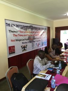 6th Institute for African Transitional Justice