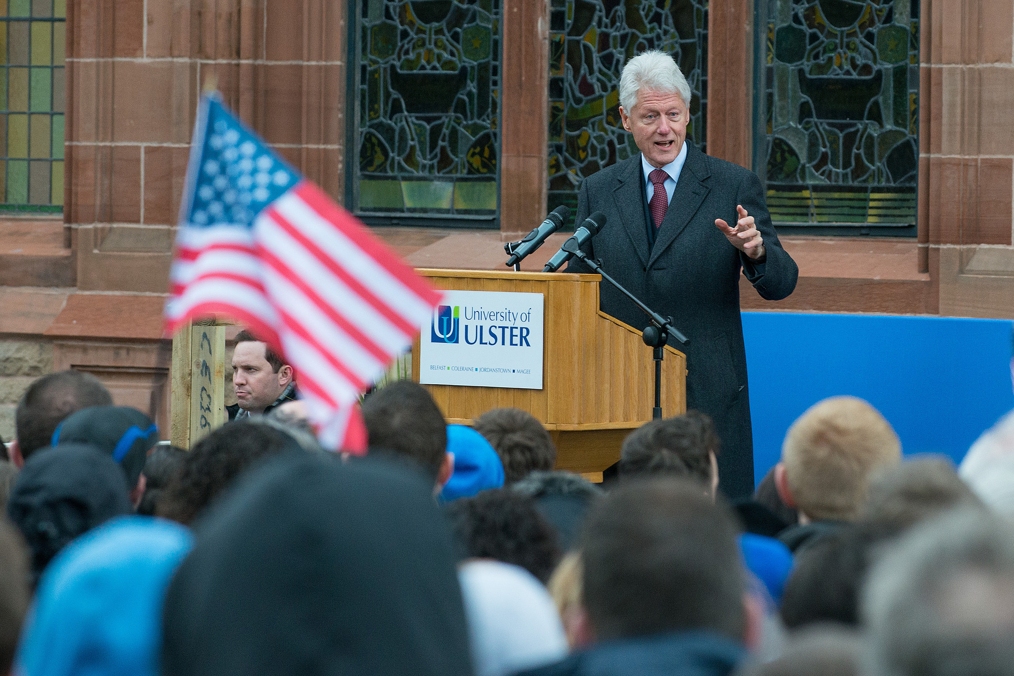 Ulster Hosts President Clinton and Launches New Book