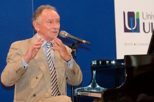 Music provided at the celebration by Phil Coulter