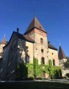Schloss Münchweiler in Switzerland the venue for the training
