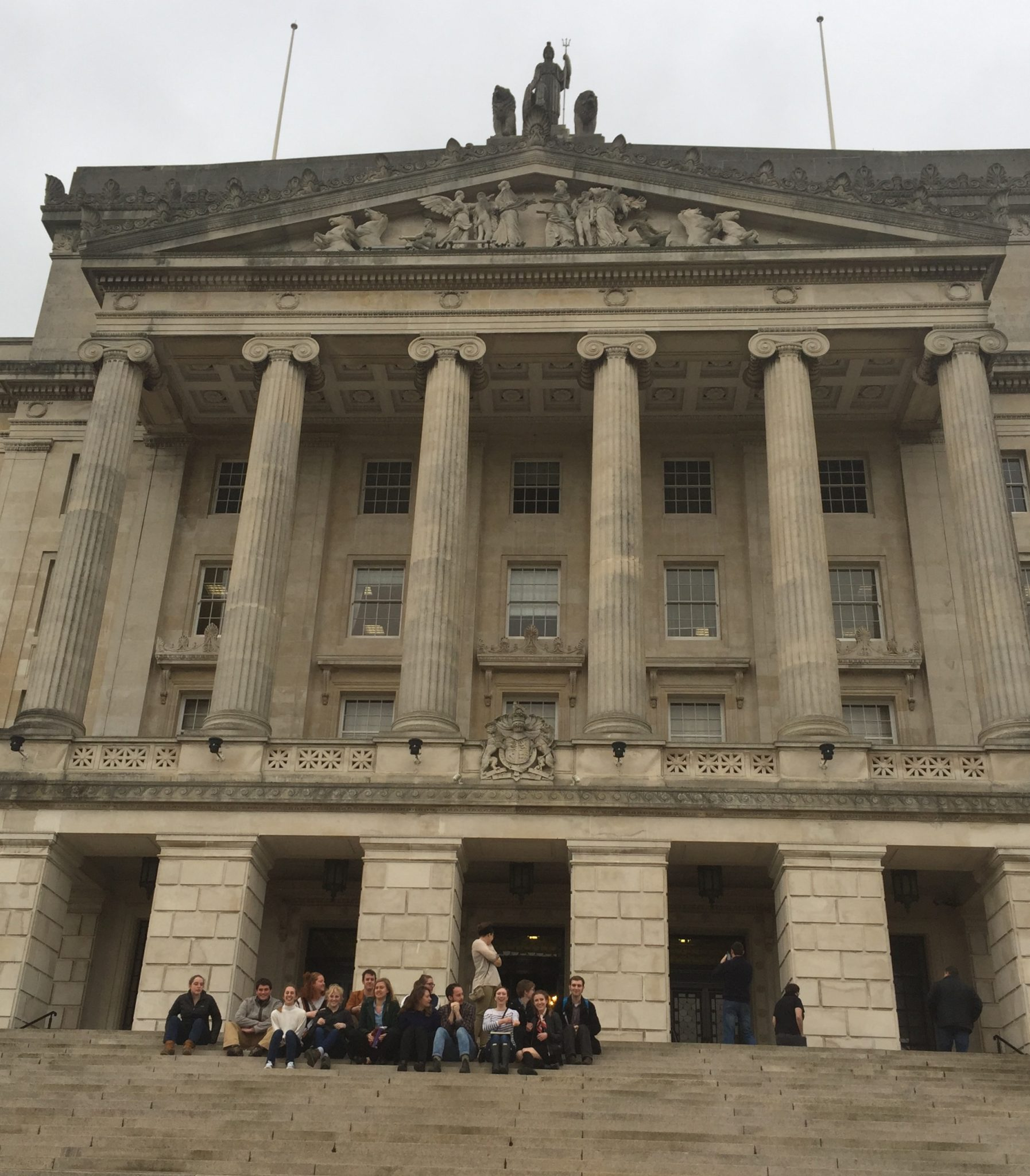 Radio Clip: Students Visit Stormont after 2017 Election