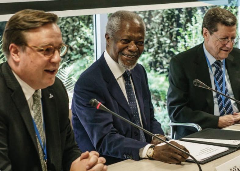 Kofi Annan Foundation Study