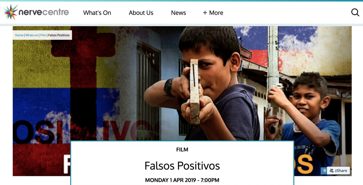 Screening Violence: Colombia