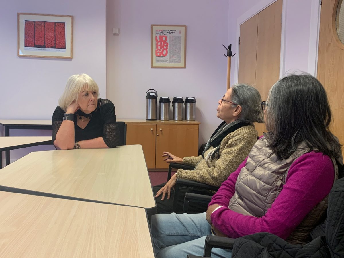 Women Mediators Magee Visit