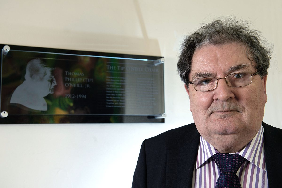 The Passing of John Hume