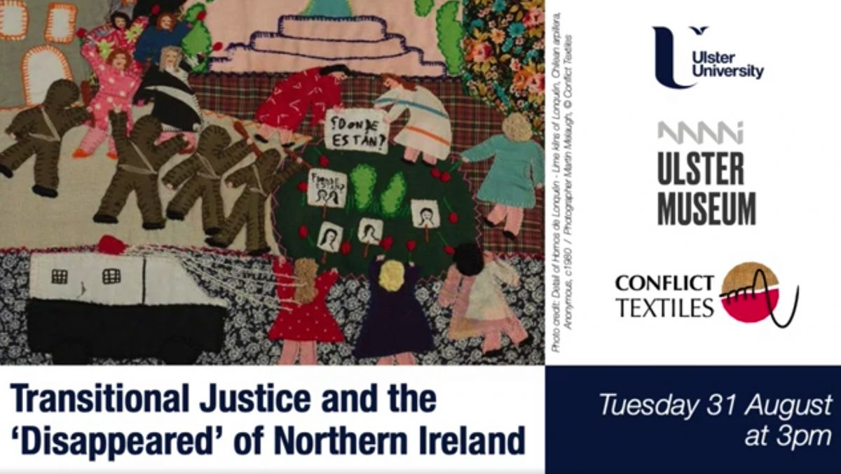 Transitional Justice: The 'Disappeared'